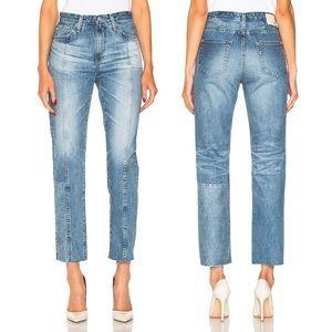 AG Phoebe Vintage High Rise Tapered Leg Jeans \ 27